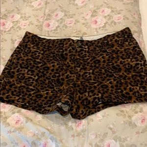 Old Navy Leopard Print Shorts-Size 12